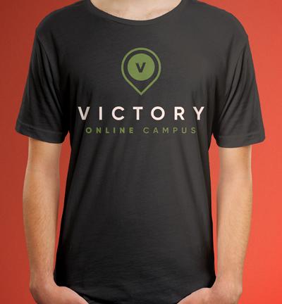 Victory Online Campus Tee